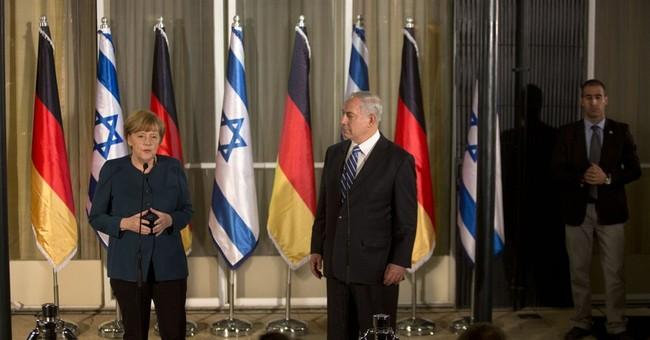 German Chancellor Angela Merkel visits Israel