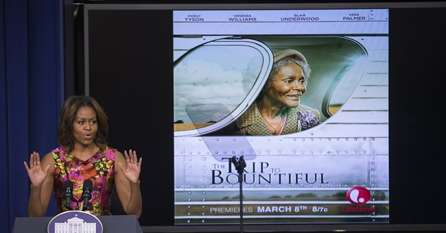 First lady honors star Cicely Tyson at screening
