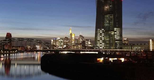 EU revises growth forecasts up slightly