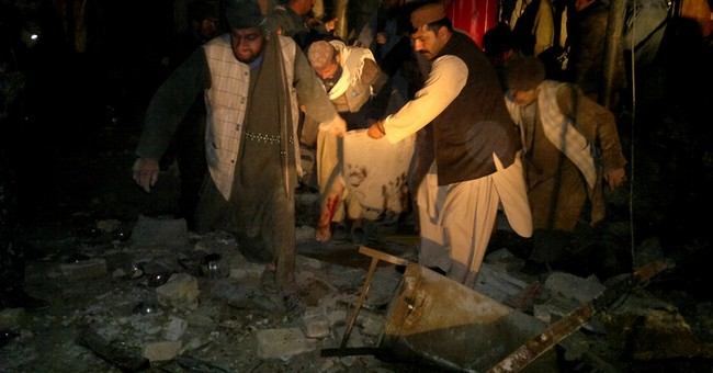 Official: Suicide bomber kills 8 in Afghanistan