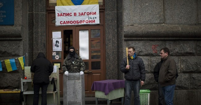 Ukraine currency hits record low amid uncertainty