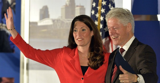 Bill Clinton tries to boost McConnell challenger