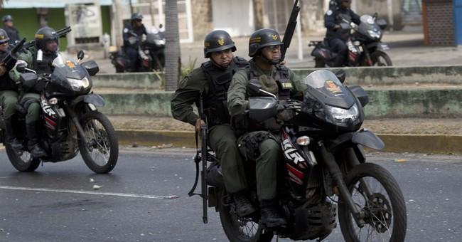 5 from domestic spy agency arrested in Venezuela