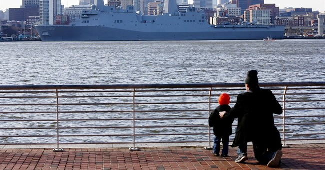 Navy ship bears reminders of Sept. 11 crash in Pa.