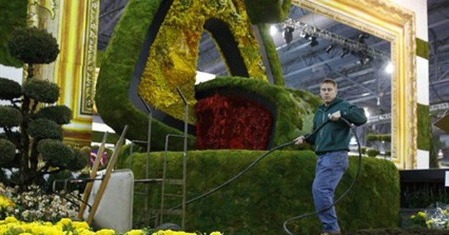 Philly Flower Show brings art canvases to life