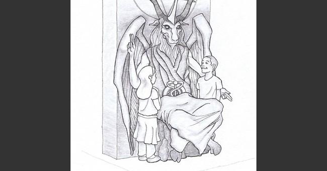 Group unveils Satan statue design for Oklahoma