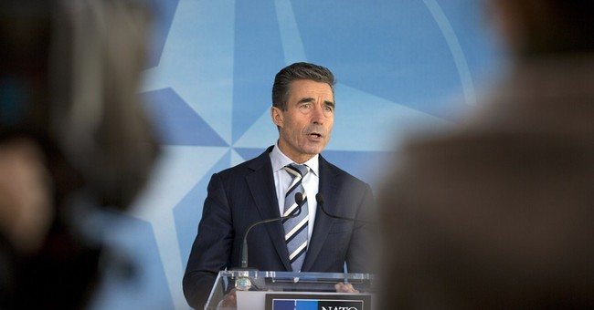 NATO says Russian action threatens peace in Europe