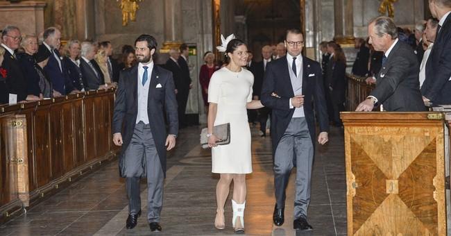 Sweden's Princess Victoria drops Paralympic visit