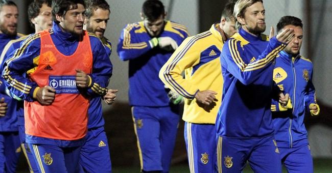 Ukrainian team united despite turmoil at home