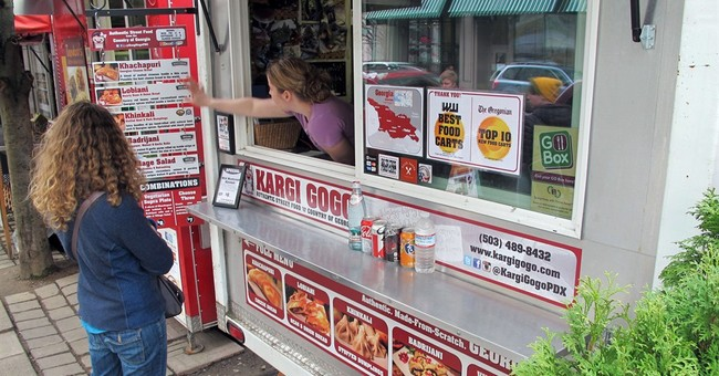 Go For the Food: Portland food carts cross borders