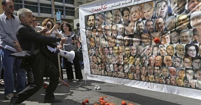 Lebanon's political system sinks nation into debt