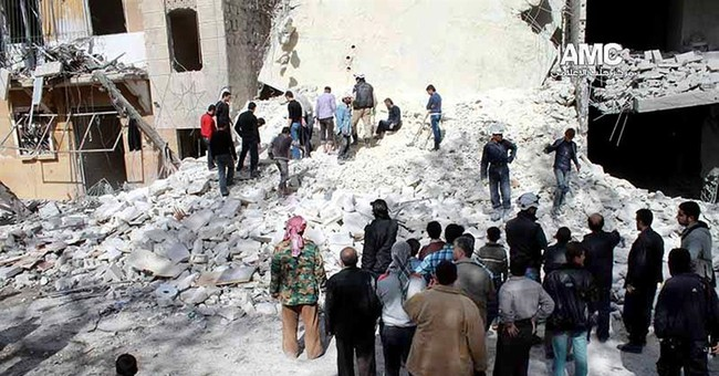 Car bombs in central Syria kill 17