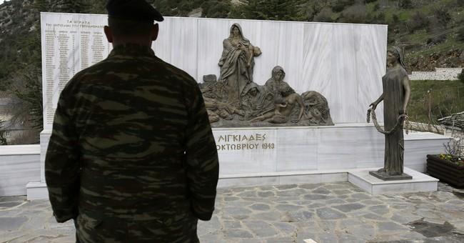 Greek president presses Germany's Gauck on WWII