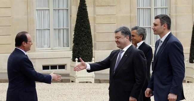 Ukrainians urge US, EU to get on same wavelength