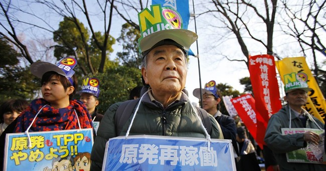Thousands protest ahead of Fukushima anniversary