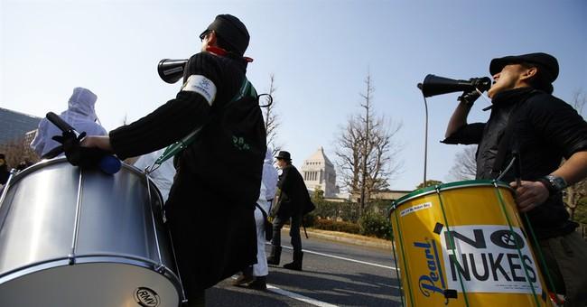 Thousands protest ahead of Fukushima anniversary