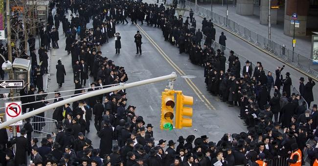 Orthodox NYC Jews protest proposed Israeli draft