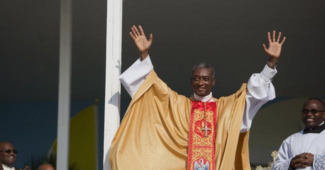 Haiti's new cardinal celebrates first Mass