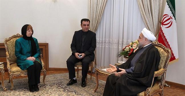 EU's Ashton criticized for meeting Iran activists