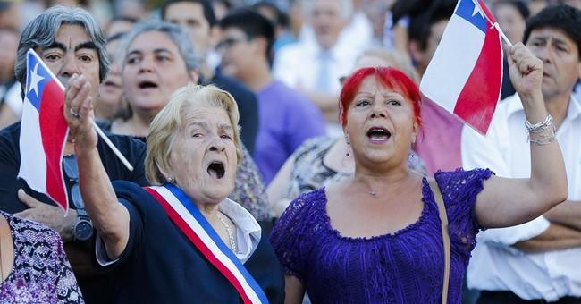 Chile's Bachelet sworn in again as president