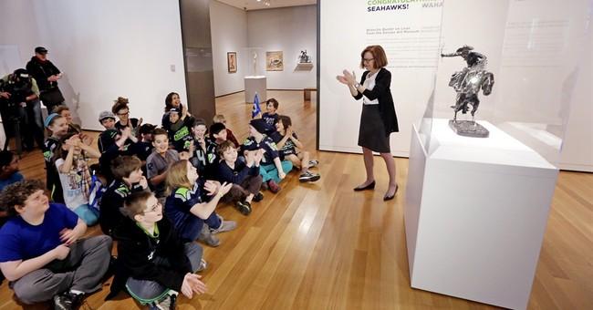 Denver museum pays off Super Bowl art wager