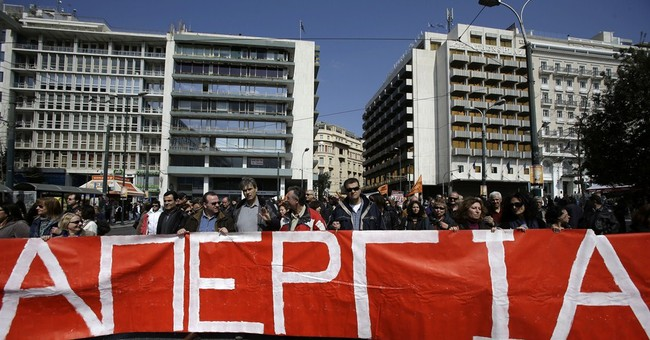 Strikes in Greece as austerity deal proves elusive