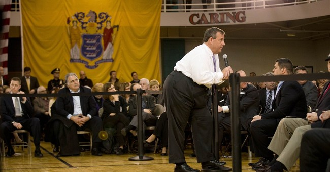 6 hecklers disrupt town hall meeting with Christie