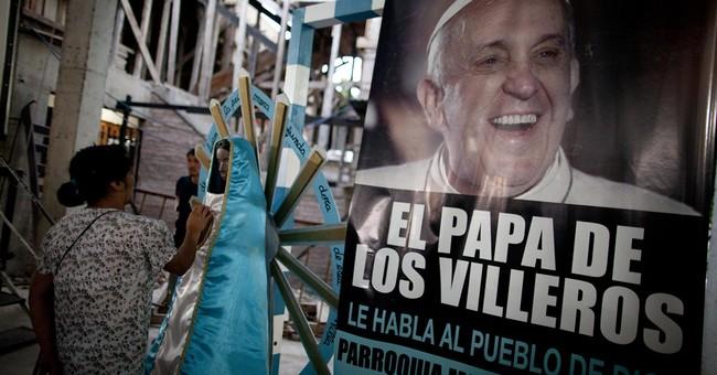 On 1st anniversary, pope defends 'slum priests'