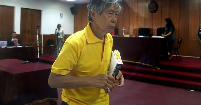 Peru's ex-President Fujimori has stroke, is stable