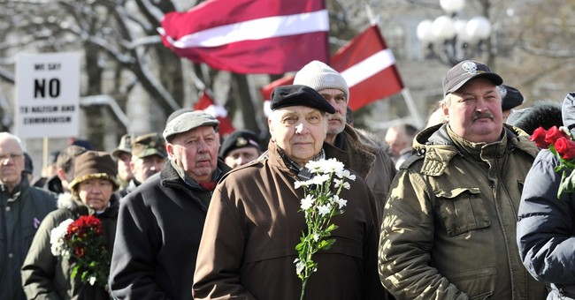 Latvians honor Nazi allies from World War II