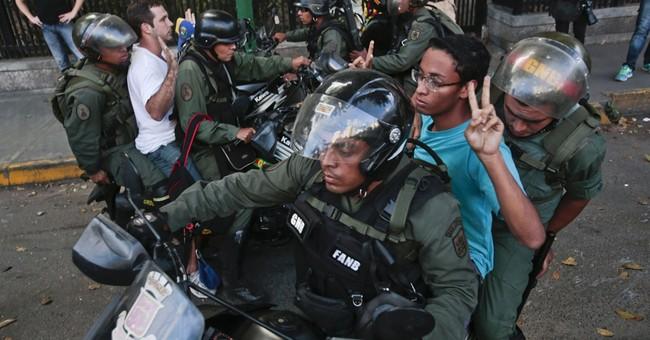 Venezuelan troops take control of protest plaza