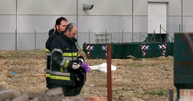 WWI armament kills 2 workers in Flanders Fields
