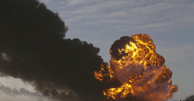 North Dakota oil train crash cleanup almost done