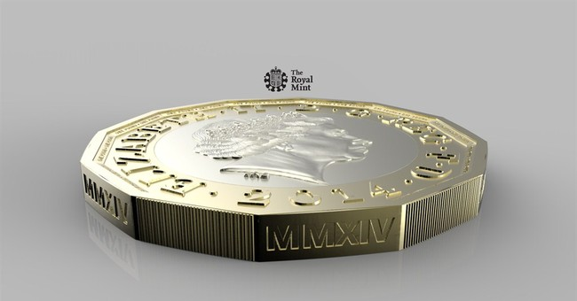 UK Royal Mint unveils new pound coin