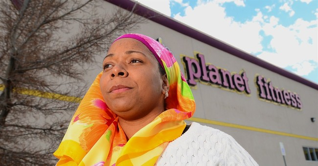 Gym faces lawsuit over Muslim head covering