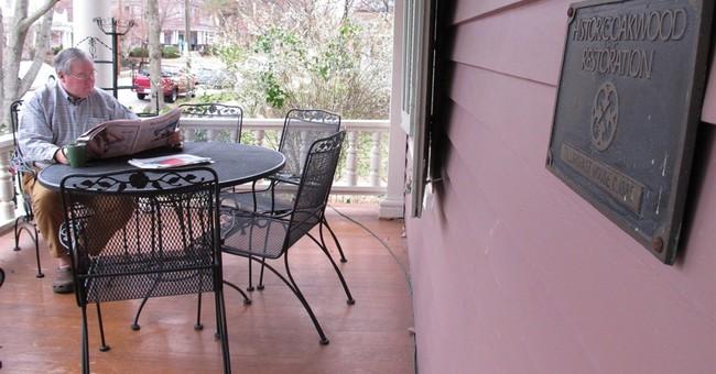 Modern home divides historic Southern neighborhood