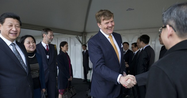 Chinese President Xi arrives in Netherlands