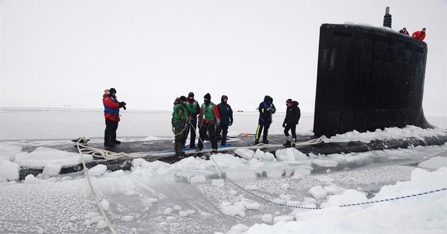 Navy breaks down ice camp north of Alaska