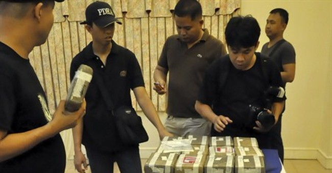 Large cocaine stash uncovered at Philippines wharf