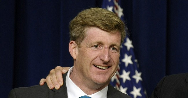 Patrick Kennedy working on memoir about addiction