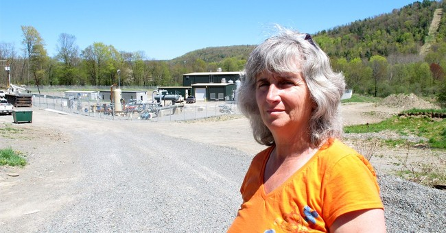 Fracking activist wants back on driller's land