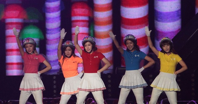 Crayon Pop thinks they'll mesh well with Lady Gaga