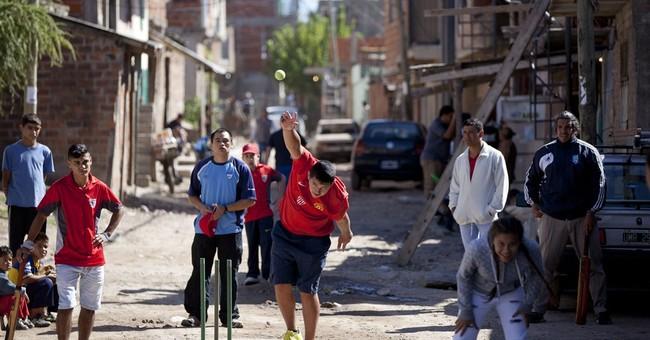 Argentina cricket program targets slum poverty