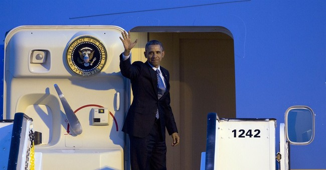 Obama arrives in Italy for meeting with pope