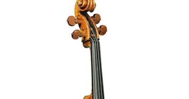 Rare Stradivarius viola could bring $45M at sale