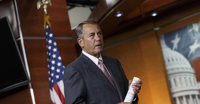 Boehner: US should help Iraq in anti-terror fight