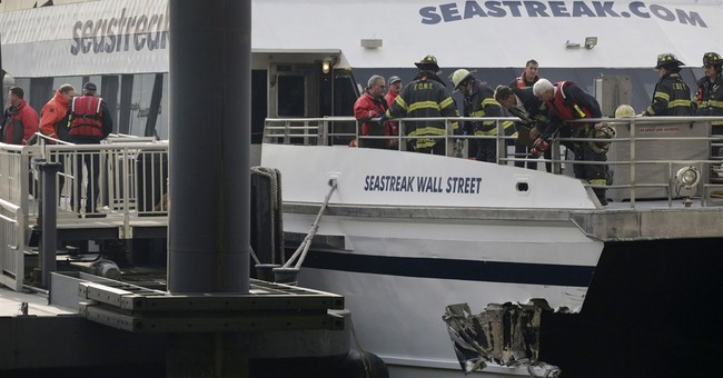 NTSB: Captain's error led to 2013 ferry crash