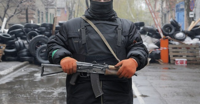 Pro-Russian Gunmen Set the Stage for Russian Invasion in Ukraine