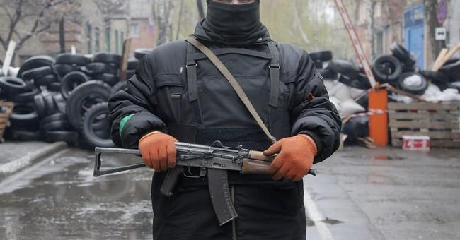 Pro-Russian Gunmen Set the Stage for Russian Invasion in Ukraine