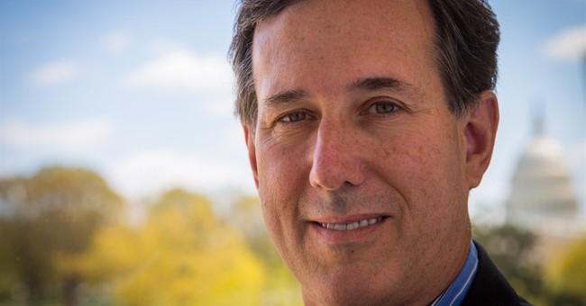 """WaPo Writer: """"Santorum is Running Again"""""""